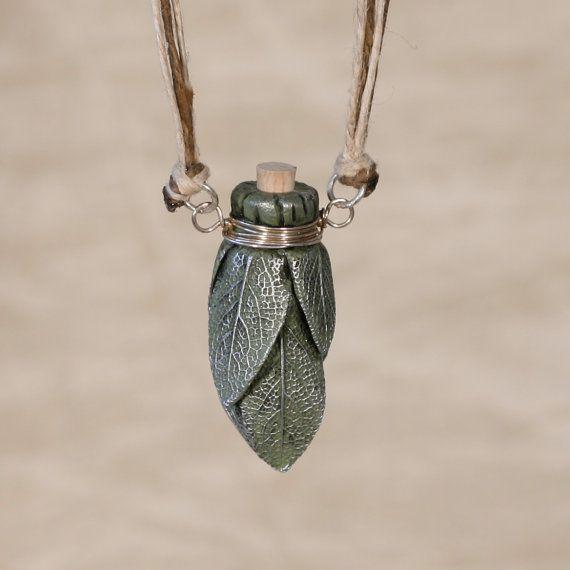 Elven Forest Bottle Necklace
