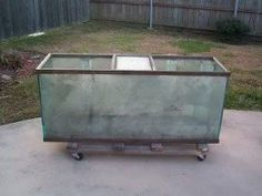 How to clean up an all glass aquarium and replace the silicone.  Refurbishing old aquariums to good as new condition with new silicone.  DIY tricks and tips for resealing your all glass aquarium.