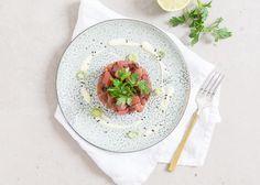 Kerst voorgerecht: Tonijntartaar met wasabi mayonaise