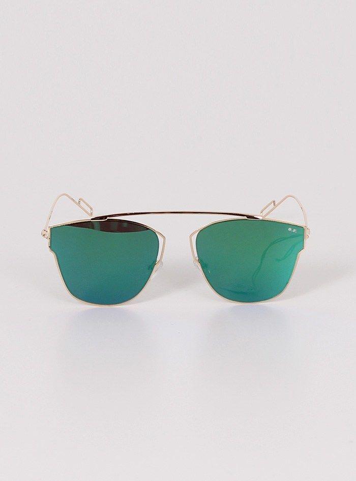 Γυαλιά Ηλίου Με Μπλε- Πράσινο Φακό