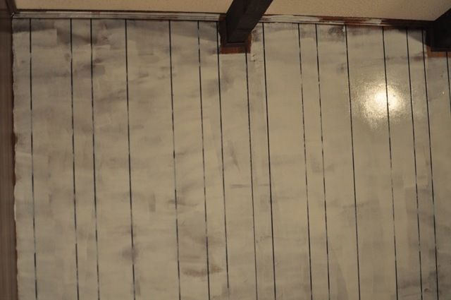 how to paint wood paneling diy instructions paint wood paneling. Black Bedroom Furniture Sets. Home Design Ideas