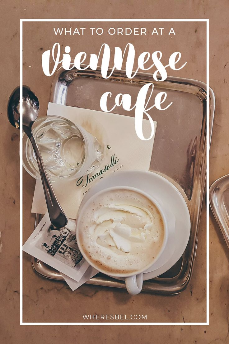 Everything you needed to know about Vienna's age old coffee house culture // Vienna Coffee House | Vienna Cafe | Vienna Austria | Things to do in Vienna | Austria Travel | Vienna Coffee Drinks | Viennese Cakes | Viennese Desserts | Vienna Coffee Culture