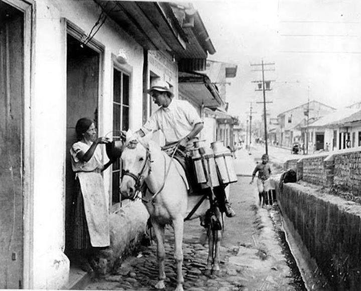 El lechero, México