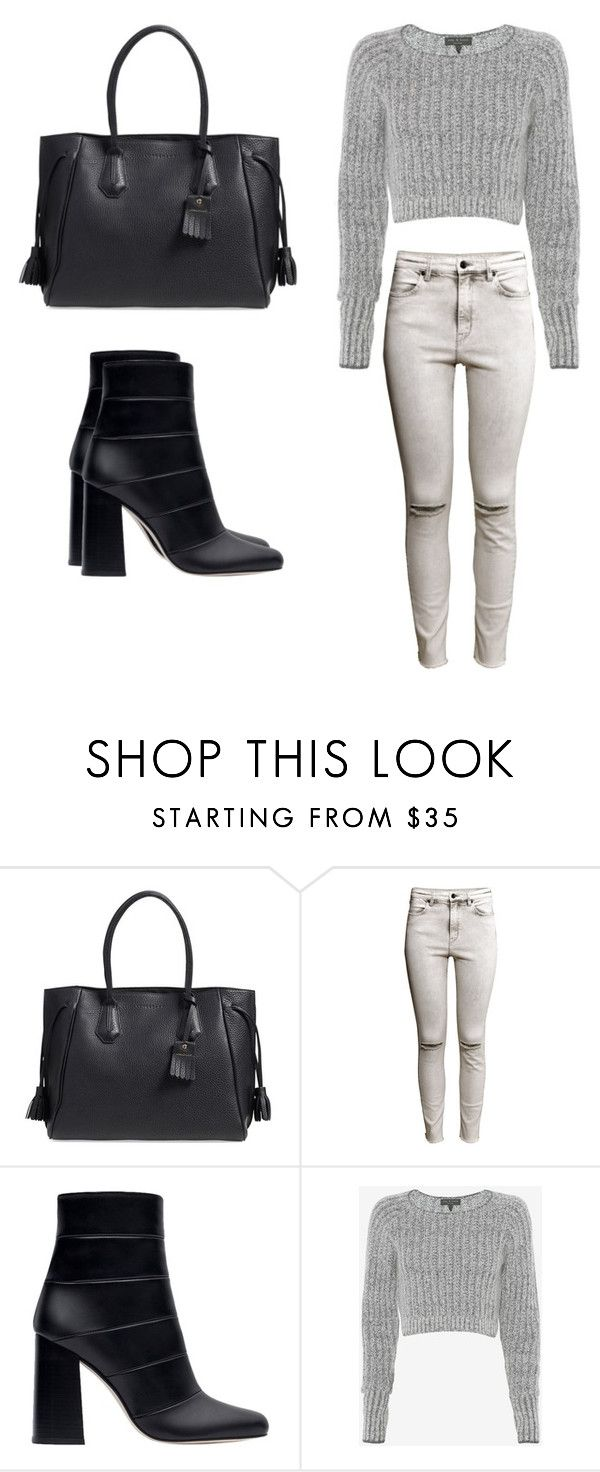 """Back to basics."" by christyandnef on Polyvore featuring Longchamp, H&M, Zara and rag & bone"
