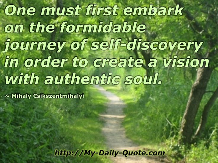 The journey of self discovery... #quotes #mydailyquote