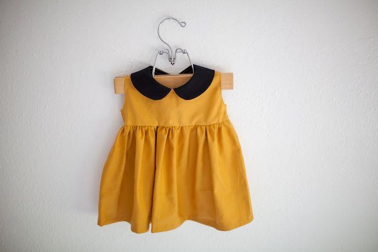 Rose's Yarn: Toddler Dress with Peter Pan Collar
