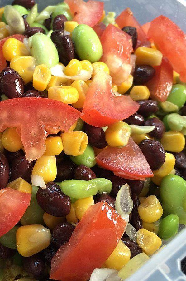 Healthy Garden Salad Salad Salad Side Dishes Garden Salad Recipe