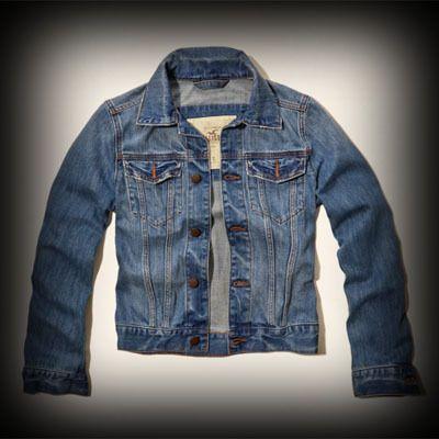 Hollister メンズ ジャケット ホリスター Santa Monica Denim Jacket デニムジャケット ★ホリスターHollister今季新作商品。(アバクロ姉妹ブランド)日本未入荷!おすすめ品! ★ヴィンテージストーンウォッシュ加工が一点一点違ってダメージがいい感じに味がでています。