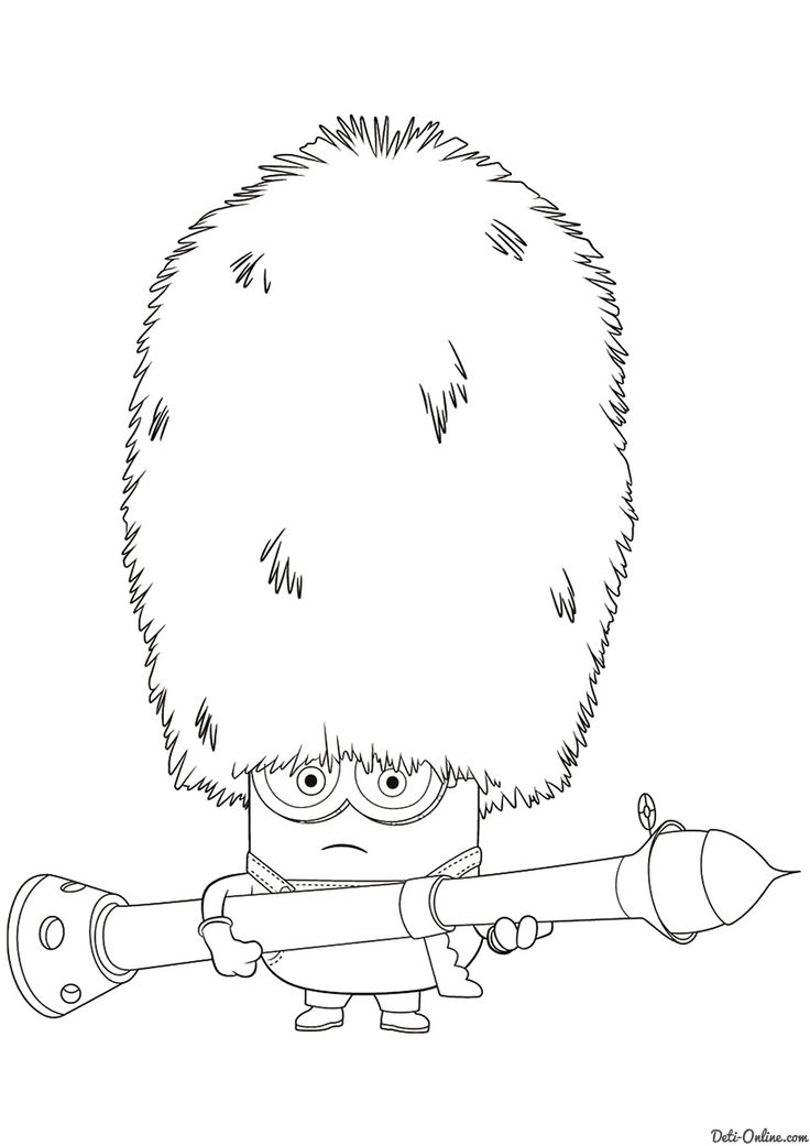 7 Best Minions Coloring Pages Images On Pinterest