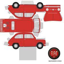 Resultado de imagen para carros para armar de papel para maquetas faciles
