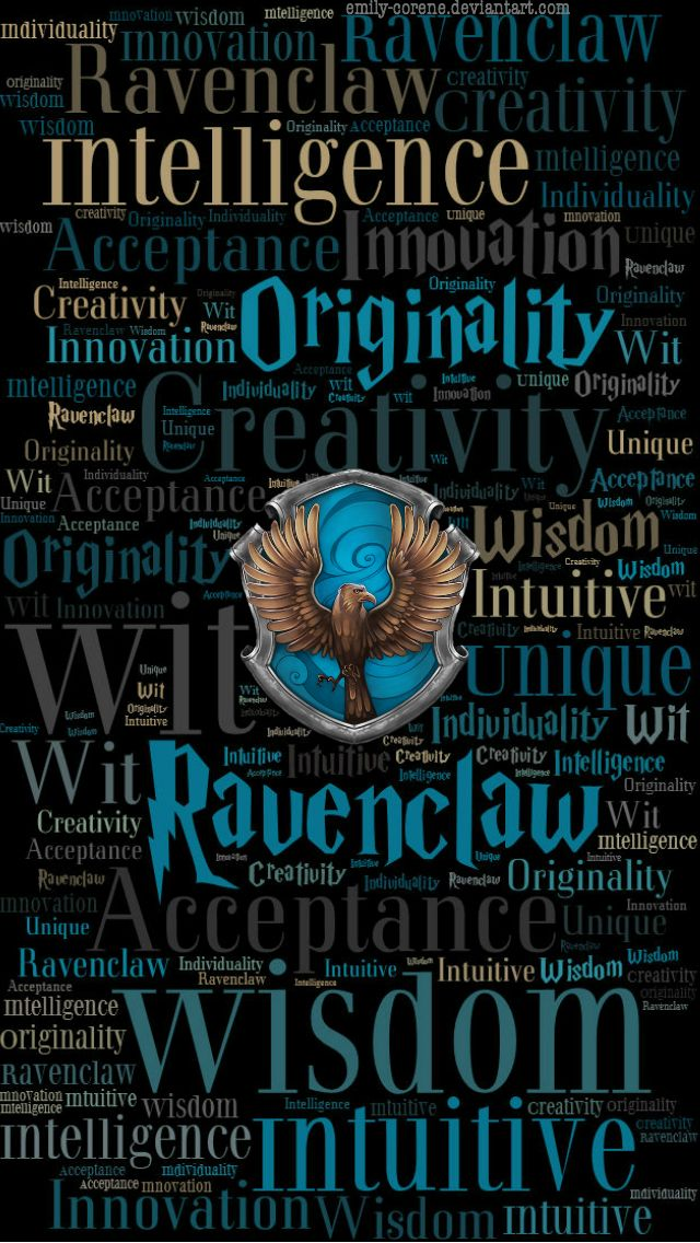 HD Ravenclaw Phone Wallpaper by emily-corene on DeviantArt