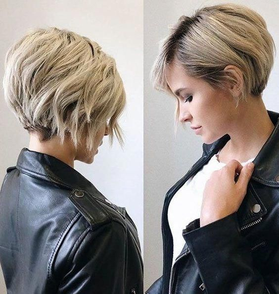 35 New Short Hairstyles for 2019 – Pixie & Bob Hai…
