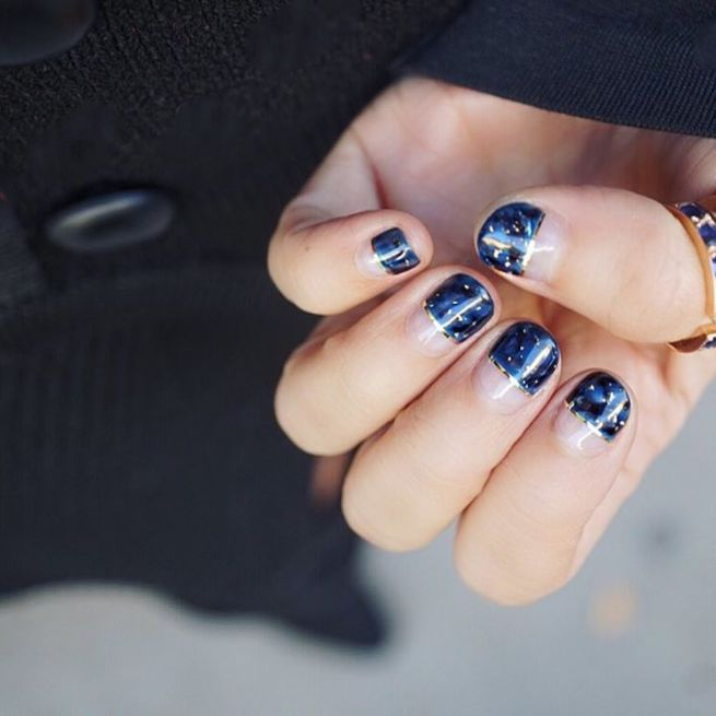 Nail Art Midnight Blue: 51 Best Images About #VFNailedIt On Pinterest