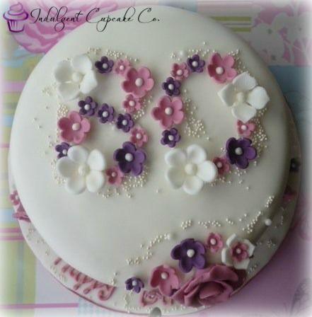 80th Birthday cake..........