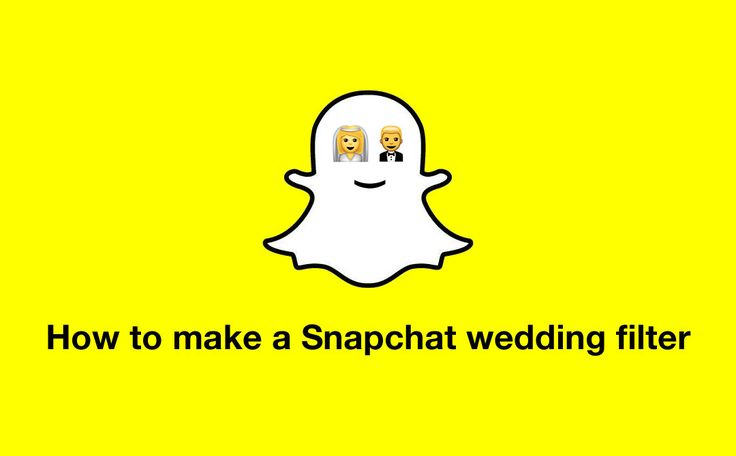 How to make a Snapchat wedding filter