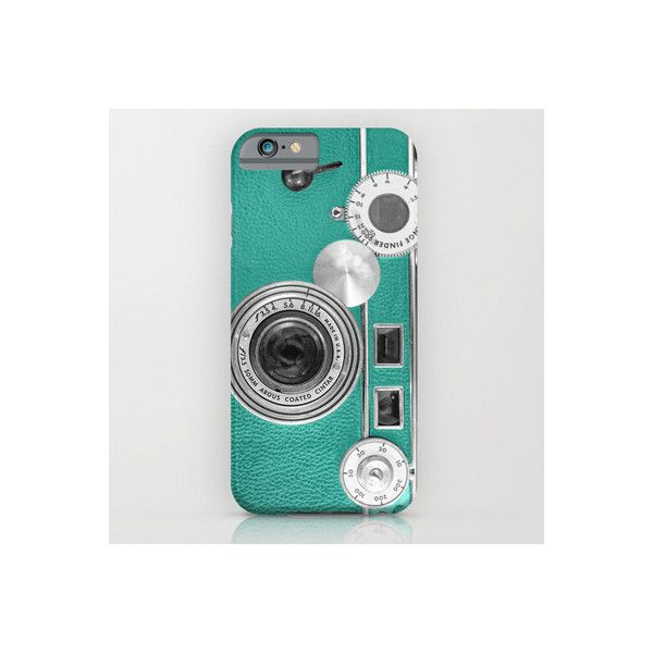 Teal Retro Vintage Phone IPhone 6 Slim Case iPhone & iPod Case by Wood-n-Images. Photography, Digital. Protect your iPhone with a one-piece, impact resistant, …