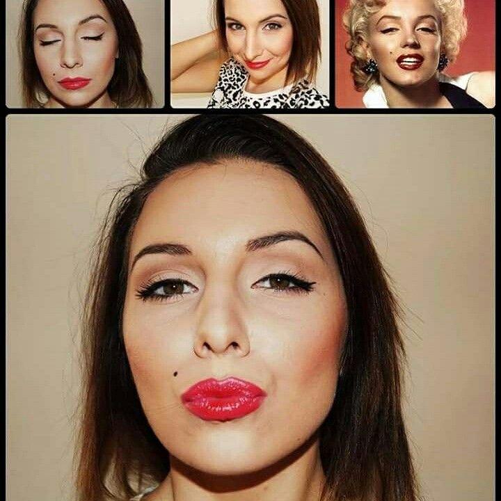 Merlin Monroe makeup