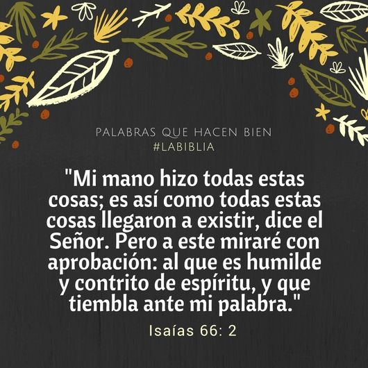 Biblia Isaías 66:2