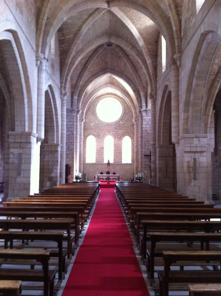 Inside Iranzu monastery