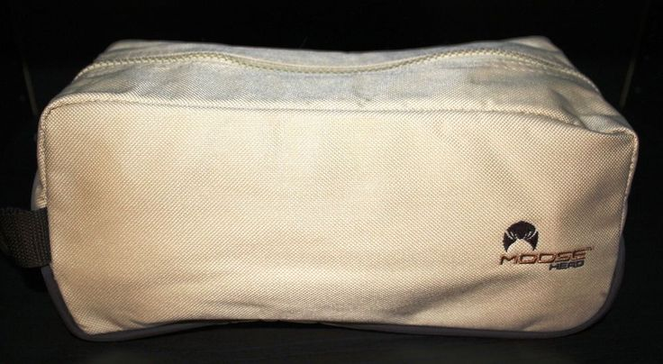 Toiletry Bag Moosehead Brand for Travel Shaving Shower Makeup Cosmetics