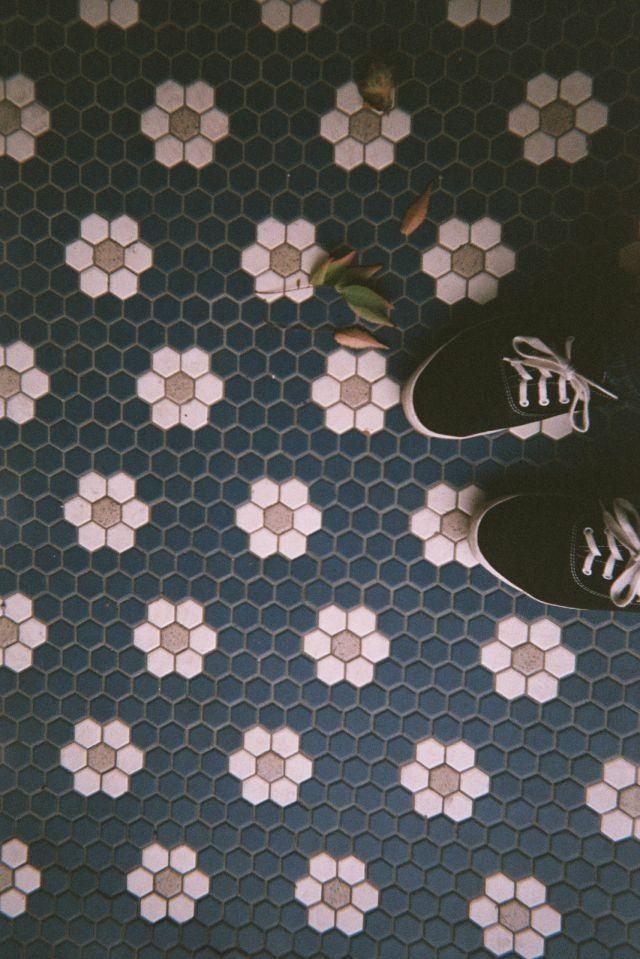 Desert Girls Vintage Trend Alert Patterned Tile Floor