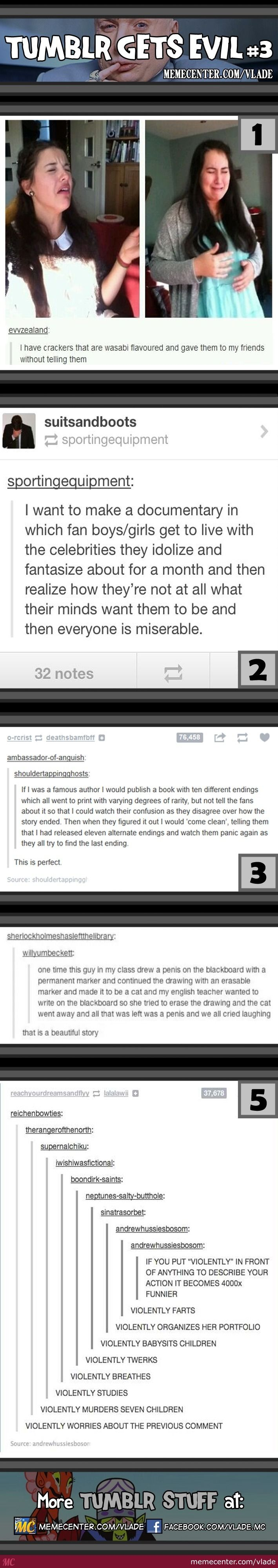 Tumblr Gets Evil #3