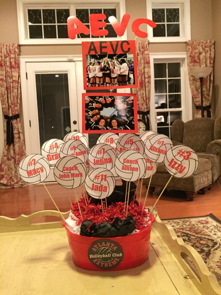 25 Best Ideas About Volleyball Decorations On Pinterest