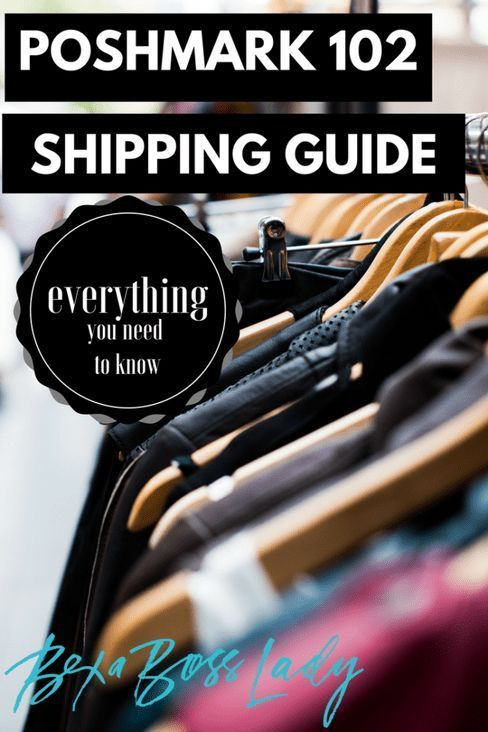 Tips for Shipping on Poshmark – Thrifting & Reselling Online Tips