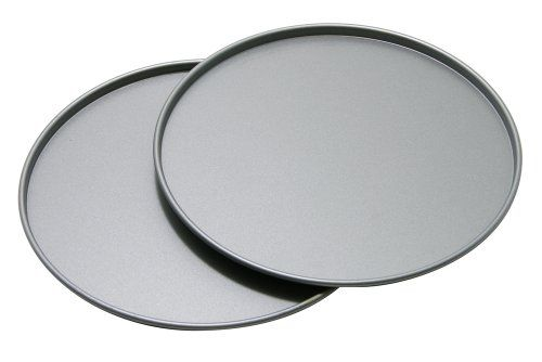 Personal Pan Pizzas for the win! OvenStuff Non-Stick Personal Size Pizza Pan, Set of Two OvenStuff http://www.amazon.com/dp/B004REJGVO/ref=cm_sw_r_pi_dp_2ibXtb1WXGSND2VQ