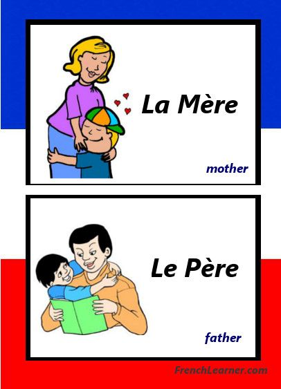 Fun Lesson With Audio & Video: French Family Members Vocabulary: http://www.frenchlearner.com/vocabulary/family-members/