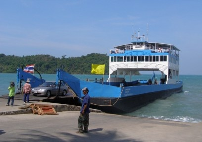 Ferry to Koh Chang, Thailand