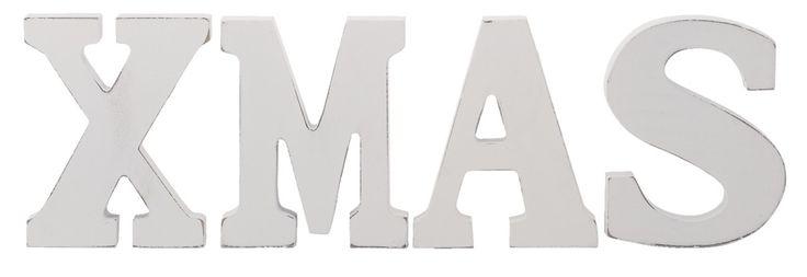 Letters Xmas: geeft meteen een kerstgevoel!