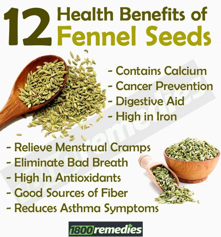 12 Most Simplistic Health Benefits of Fennel Seeds