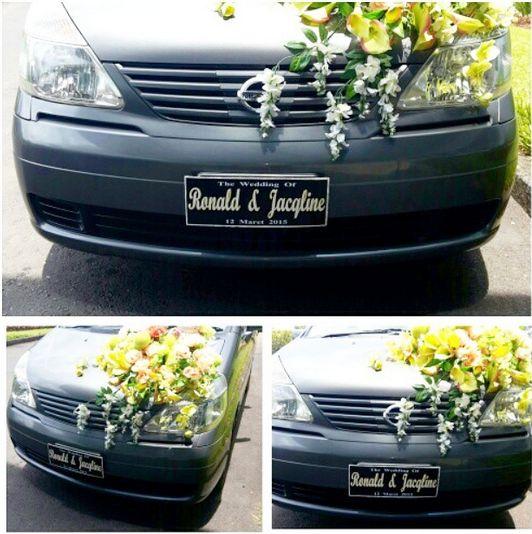 Jaqline and Ronald's Wedding #Car #Wedding #Board