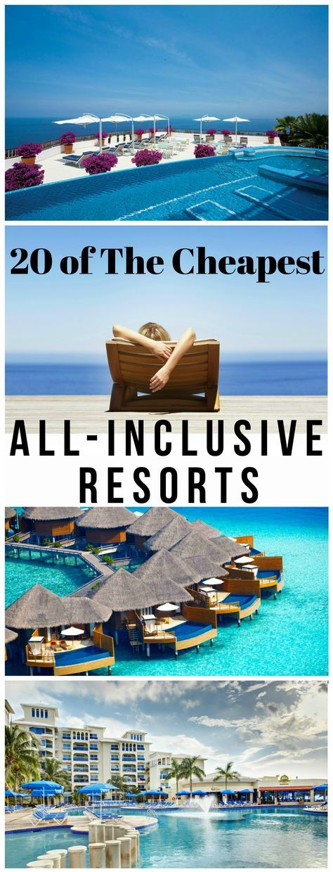 It's Summer forever at these 20 tropical escapes! Have you been getting any sun lately? We did the research: there are never gloomy days at these all-inclusive resorts but always crazy-cheap deals! What's your excuse for not having fun in the sun these days?