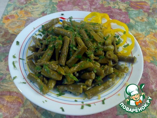 Зеленая фасоль по-сирийски ингредиенты