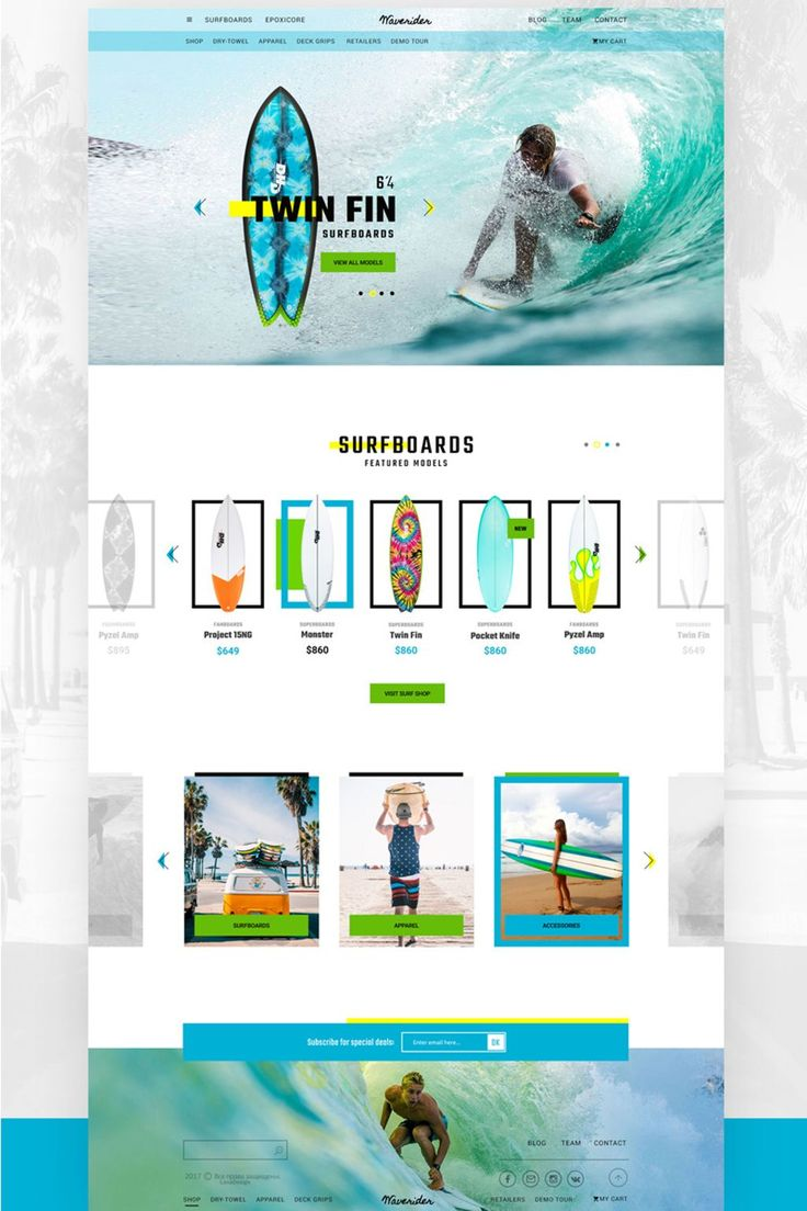 You can use this online shop for surfboard and other product.  #psd #psdtemplate #psdphotoshop #psdmockup   https://www.templatemonster.com/psd-templates/online-shop-for-surfboards-psd-template-67118.html
