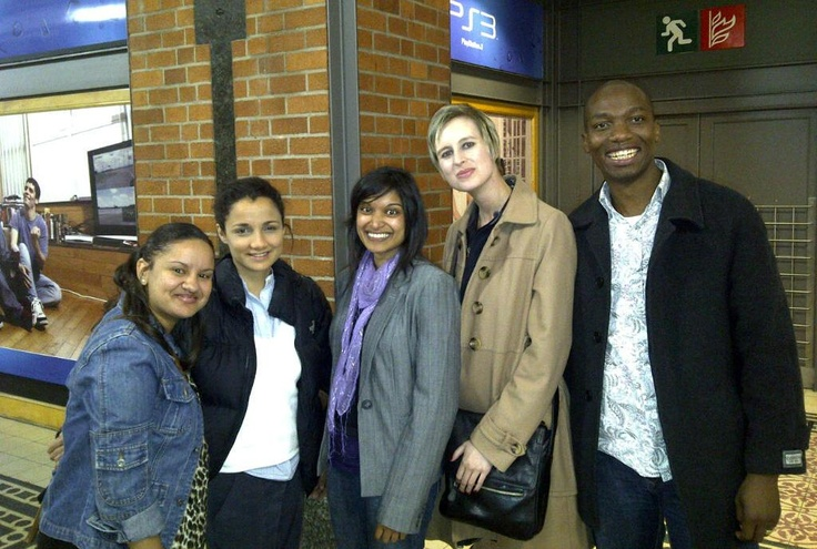The IHN Team out and about in Cape Town.
