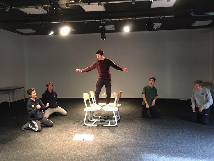Open Morning - Drama rehearsals