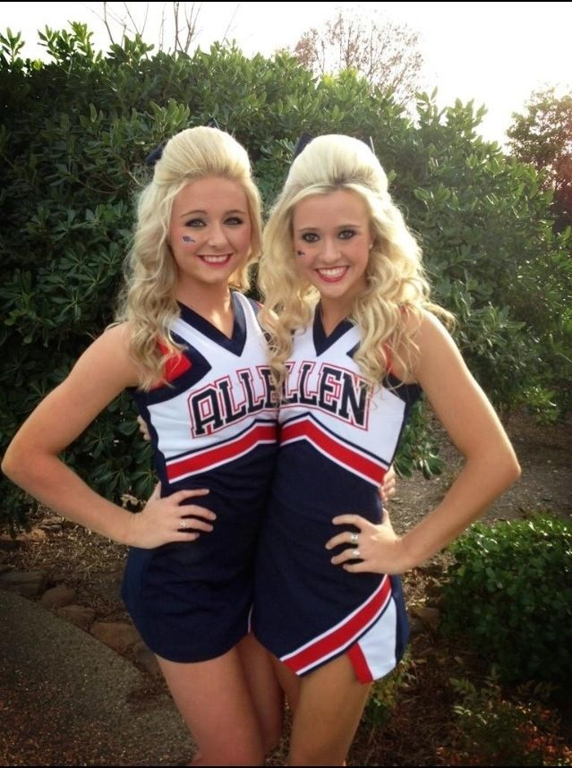 #JamieAndries of Allen High School Cheer!  For more high school cheerleading go to http://www.ushss.com