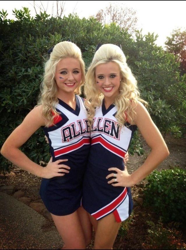#JamieAndries of Allen High School Cheer!  For more high school cheerleading go to http://www.ushss.com