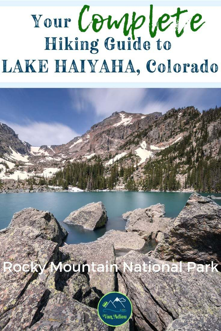Lake Haiyaha Hike in Rocky Mountain National Park