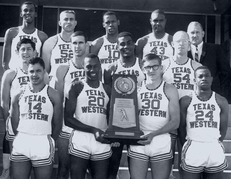 In 1966, Texas Western coach Don Haskins led the first all-black starting line-up for a college basketball team to the NCAA national championship.