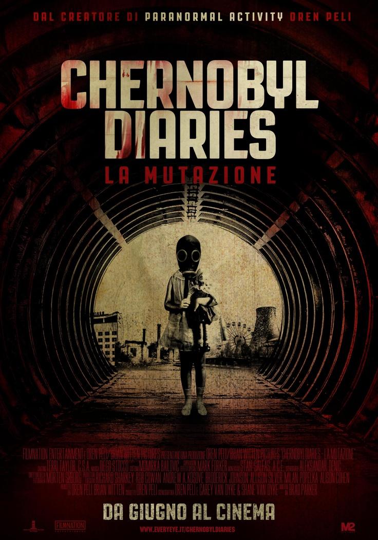 #ChernobylDiaries - La Mutazione. Il #Poster Italiano del #film dal creatore di Paranormal Activity, Oren Peli. #M2Pictures