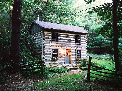 Top 25 ideas about cabins and cottages and cute places on for 2 story log cabin