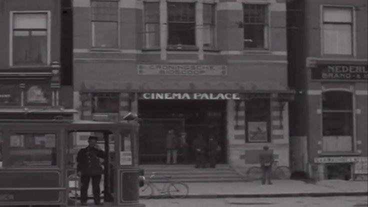 De oude bioscoop op de Grote Markt 1919 - Stad Groningen Click't