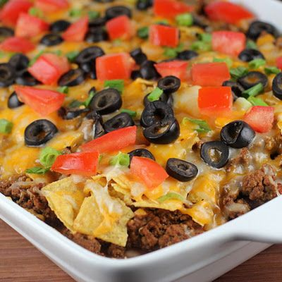 Mexican Casserole @keyingredient #cheese #cheddar #soup #tomatoes #easy #chicken…