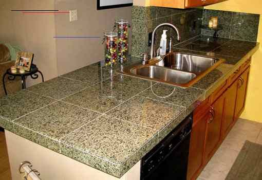 How To Install A Granite Tile Countertop Today S Homeowner Granitetilecountertops While Granite Is A Popular Choice For Kitchen Countertops The High Cos In 2020