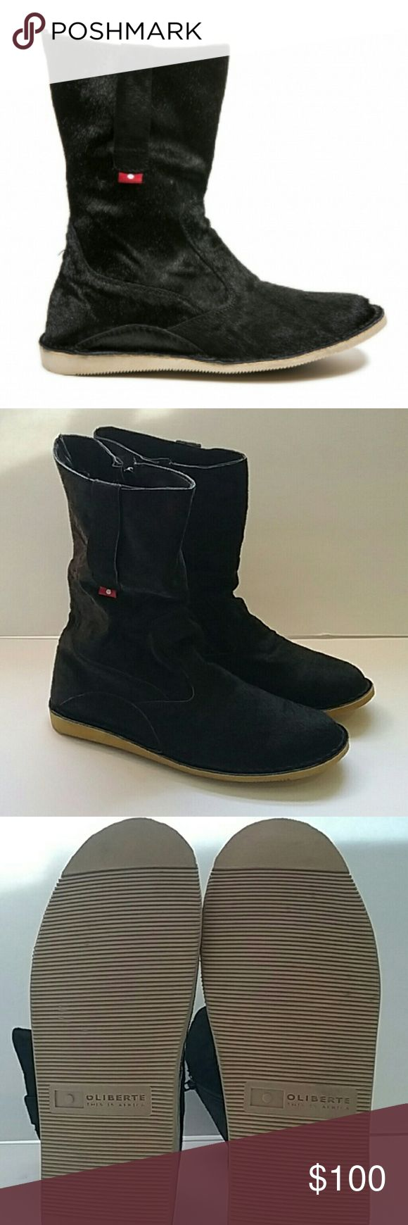 Oliberte Yabela women's boot NWOT Oliberte Yabela women's boots Sleek bl…