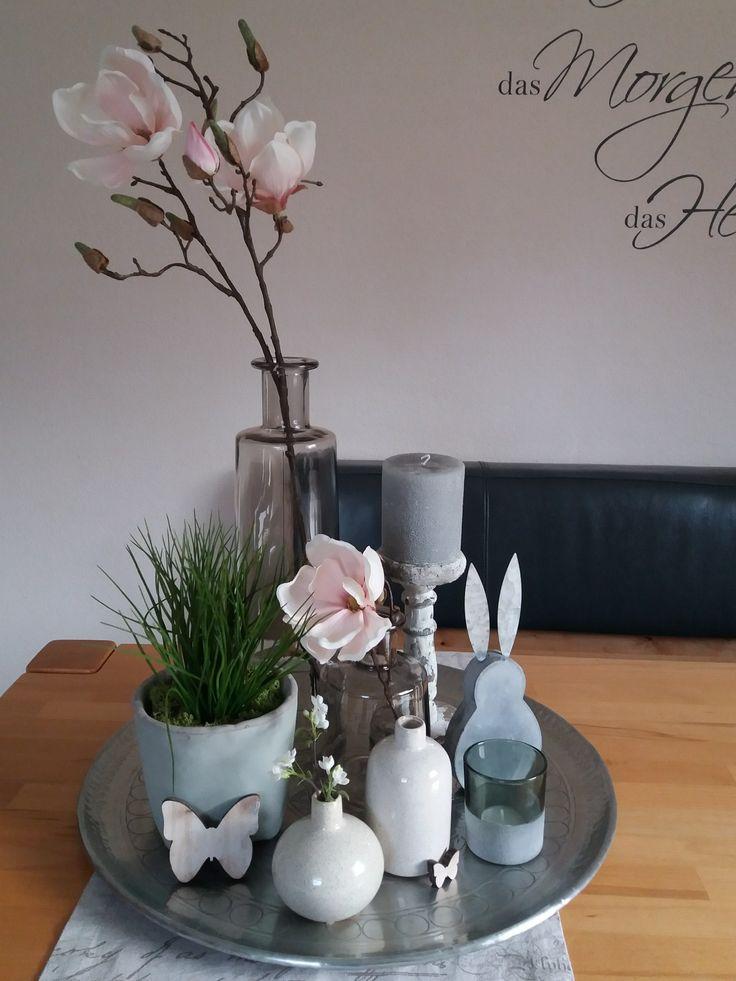 Home decor tischdeko easter table decorations home for Dachgeschosswohnung dekorieren
